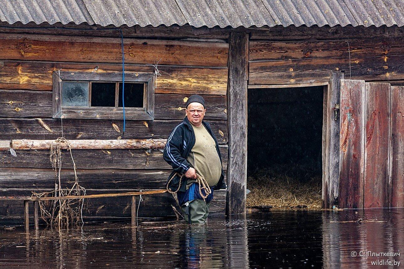 Habitant de la Polésie au Bélarus