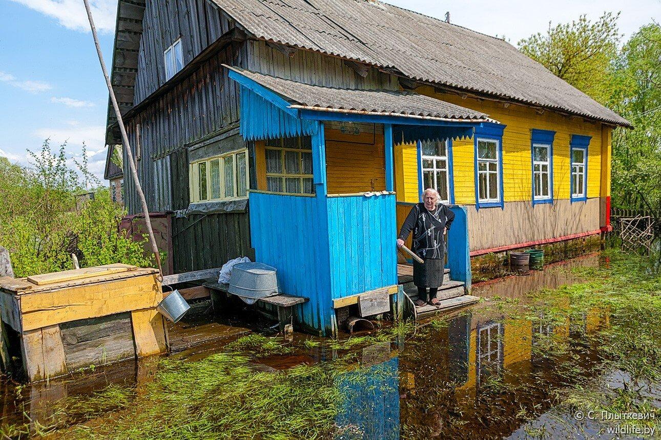 Village polésien biélorusse